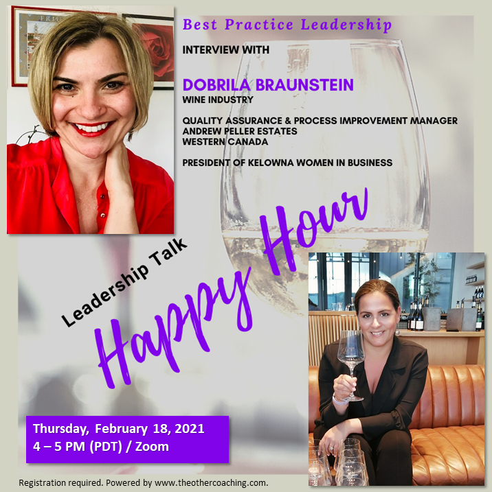 Leadership Talk Happy Hour